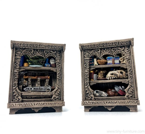 Beast Hunter Bookshelves / Monsterjäger Regale