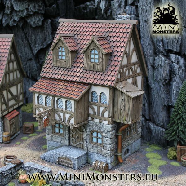 Medieval Tavern von Minimonsters