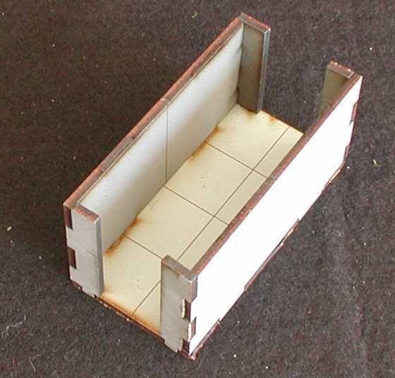 Solch ein Korridor ist 3 mal im Lieferumfang enthalten. Modulares Terra-Blocks™ Gelände von Sally 4th