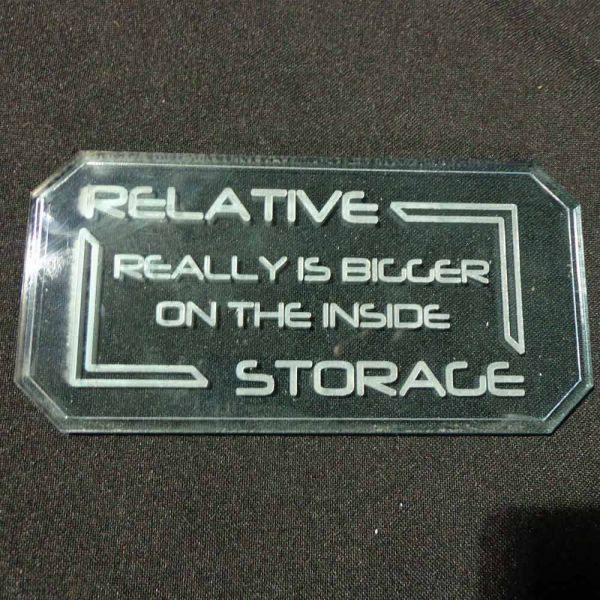 Sign B (Relative Storage) - Sci-Fi Scenics