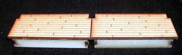 Als Ergänzung zur Laderampe mit Schiebetor oder zum kombinieren mit den Rampen. Modulares Terra-Blocks™ Tabletop Gelände von Sally 4th