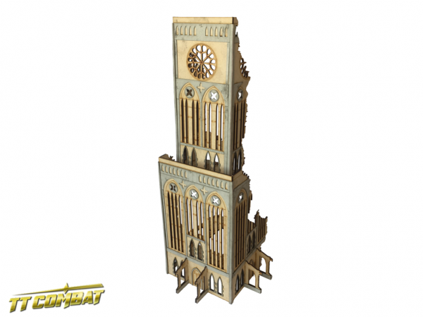 Gothic Ruined Tower - Sci-Fi-Gothic Scenics