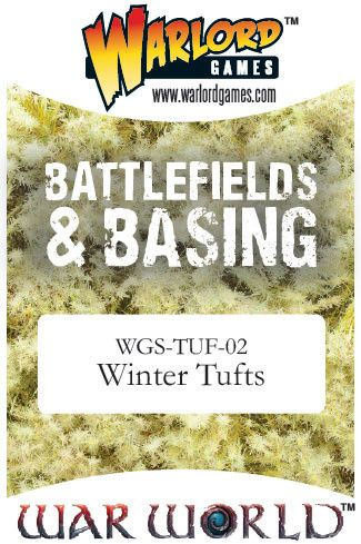 Winter Tufts von Warlord Games (Warworld)