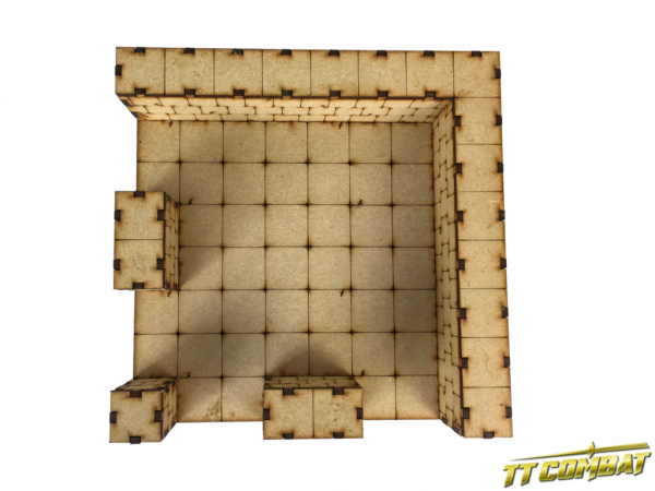 Large Deluxe Dungeon Sections 1 x Corner - Fantasy Scenics