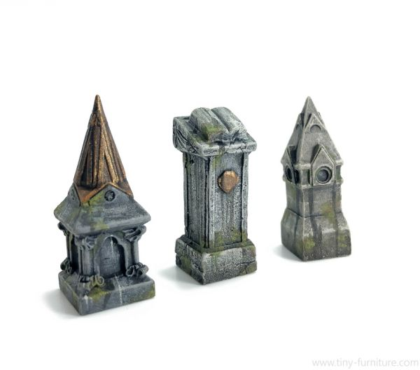 Cemetery Plinths / Friedhofs Sockel
