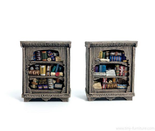Librarian Bookshelves / Bücher Regale