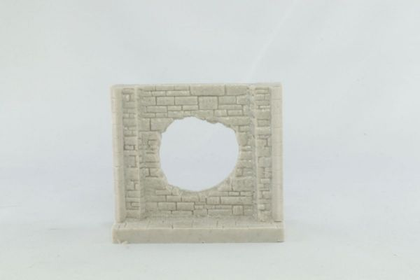 6cm Dungeon Wall with Central Hole