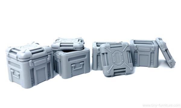 Big steel Crates / große Stahlkisten