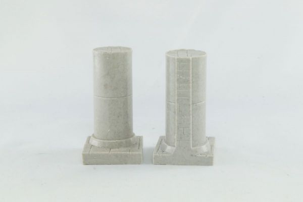 3cm Wall End Pillar x2