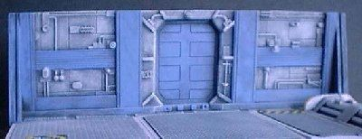 18cm Starport wall with Doorway