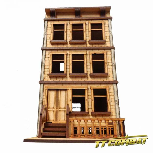 Brownstone Building A - City Scenics