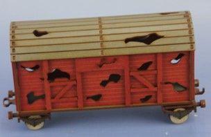 RM-346-R zerstörter Güterwaggon (K, 2, R)