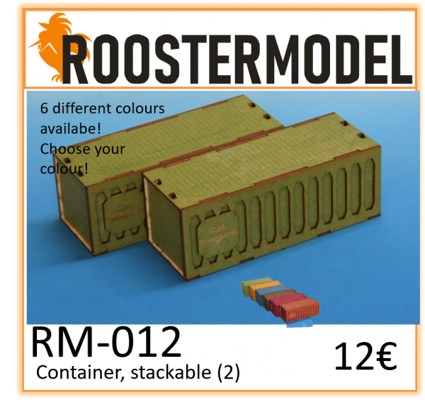 Container, stackable