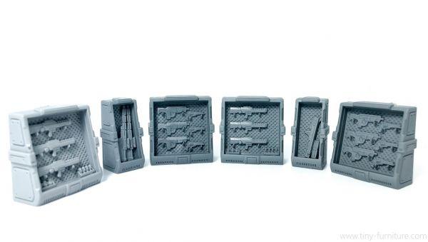 Gun Shelves / Waffenregale