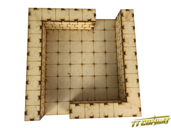 Large Deluxe Dungeon Sections 1 x Straight - Fantasy Scenics