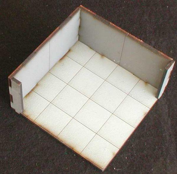Solch ein Eckmodul ist 3 mal im Lieferumfang enthalten. Modulares Terra-Blocks™ Gelände von Sally 4th