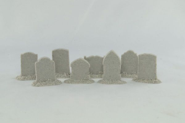 Upright Headstones x8