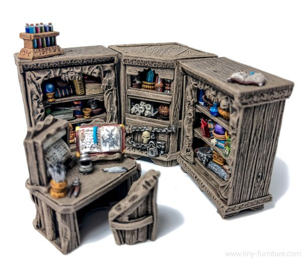 Dark Magister reading Corner / Leseecke des dunklen Magisters