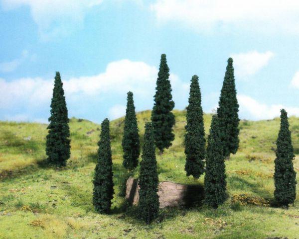 8 Zypressen von Heki (9cm)