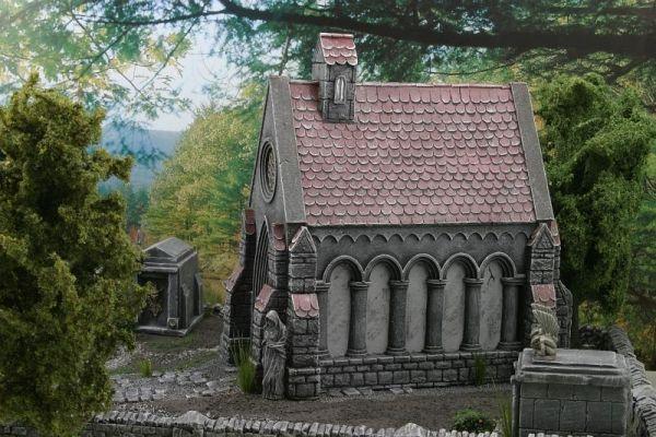 Friedhofskapelle von Ziterdes