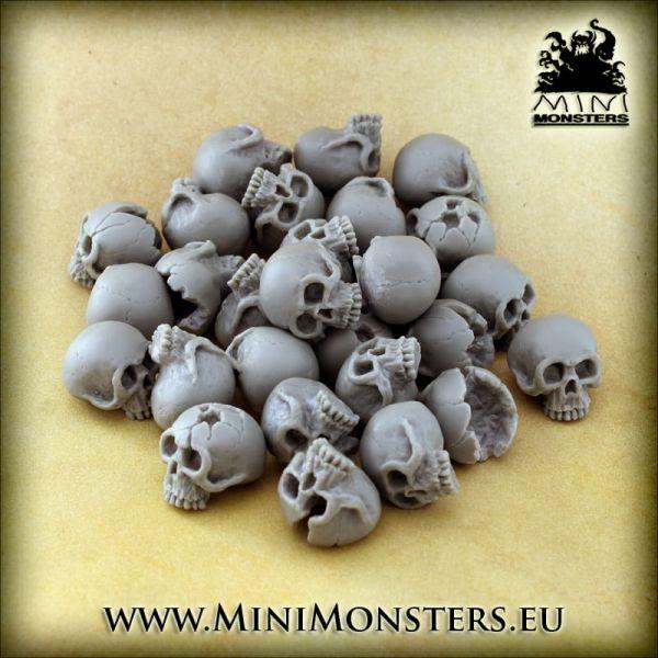 Skulls - Markers (28 Stck.)