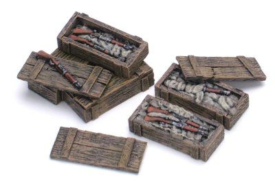 Trade goods K Rifle Cases x5